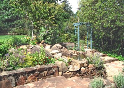 Stone Walls, Patios & Stairways