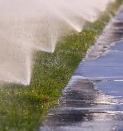 Droughts And Irrigation A Picture Of Sprinklers